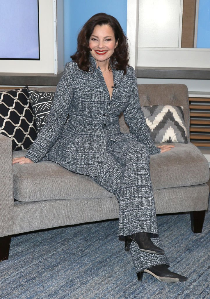 Actress Fran Drescher visits People Now on February 05, 2020 | Photo: Getty Images