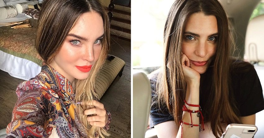 Belinda y Macarena Achaga. | Fotos: Instagram/belindapop + Instagram/macabeso