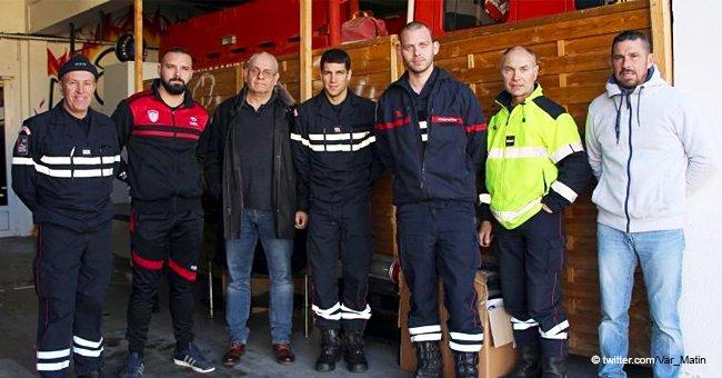 Une solidarité incroyable : des collègues aident un pompier après qu'il ait tout perdu dans un feu ravageur