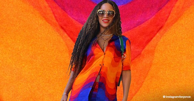 Beyoncé breaks fashion stereotypes by rocking colorful menswear in recent photos