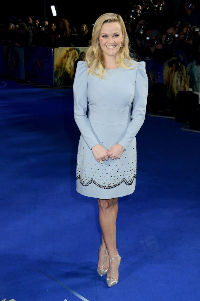 Reese Witherspoon attends the European Premiere of 'A Wrinkle In Time' at BFI IMAX on March 13, 2018 in London, England | Photo: Getty Images