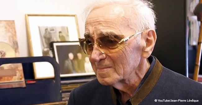 Les dernières images étonnantes de Charles Aznavour juste 2 jours avant sa mort dévoilées