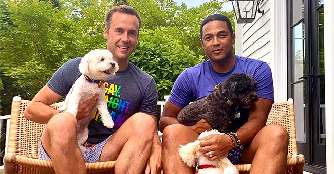CNN's Don Lemon & Fiancé Tim Malone Pose with Their Dogs in a Precious Family Photo