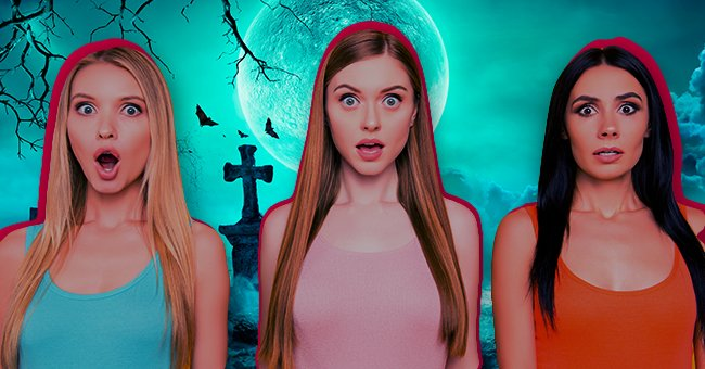 Daily Joke: Man Got Lost and Met 3 Young Ladies in a Graveyard