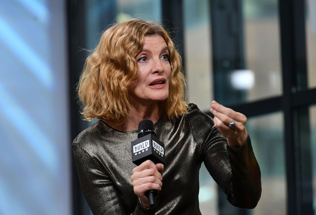 """Rene Russo visits Build to discuss """"Just Getting Started"""" on December 4, 2017 in New York City. 