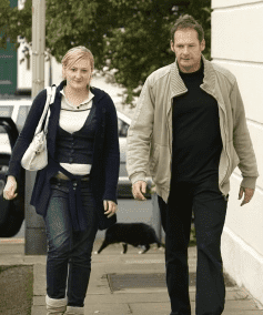 Lucy and Mark Lester. | Source: YouTube/ Celebrity News Today