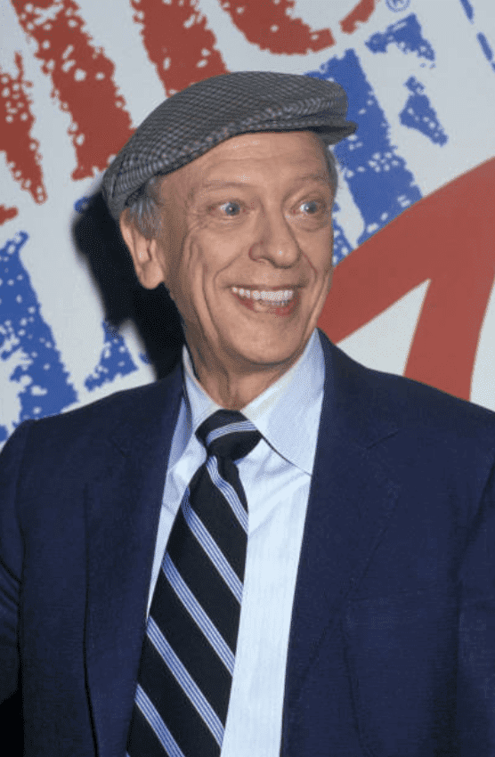 Don Knotts speaking at HBO's Comic Relief '87 at Universal Ampitheater, on November 14, 1987, in Universal City, California | Source: Jim Smeal/Ron Galella Collection via Getty Images