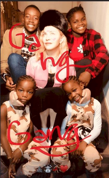 Source: Instagram/Madonna Stories