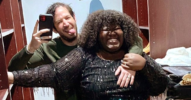 Gabby Sidibe Glows with Happiness Giving a Closer Look of Her Engagement Ring — See the Photo