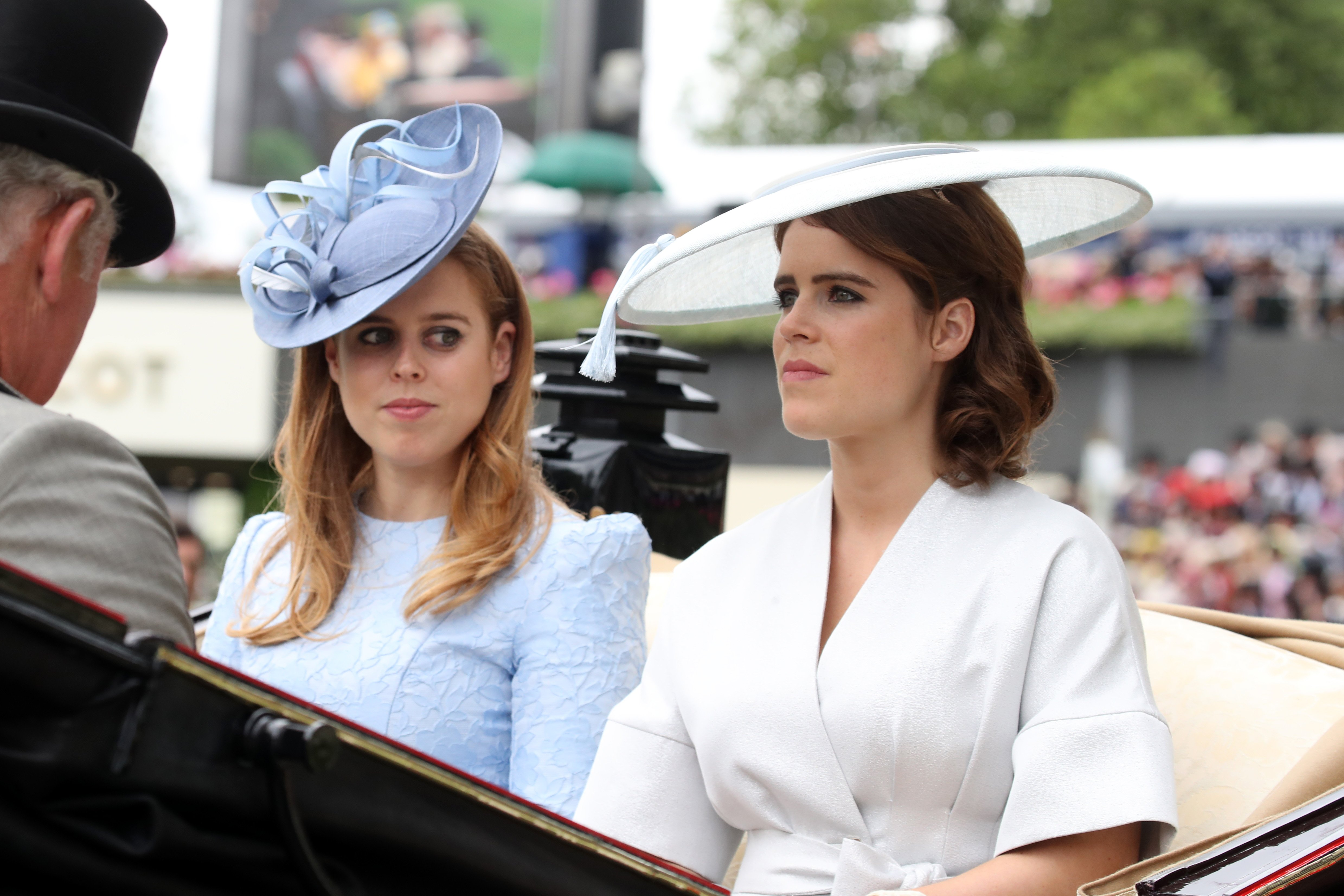Princess Beatrice and Princess Eugenie.   Source: Getty Images