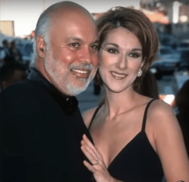 Céline Dion sur la photo avec son mari René Angélil avant la mort de ce dernier. | YouTube/CelineDionForumPromo