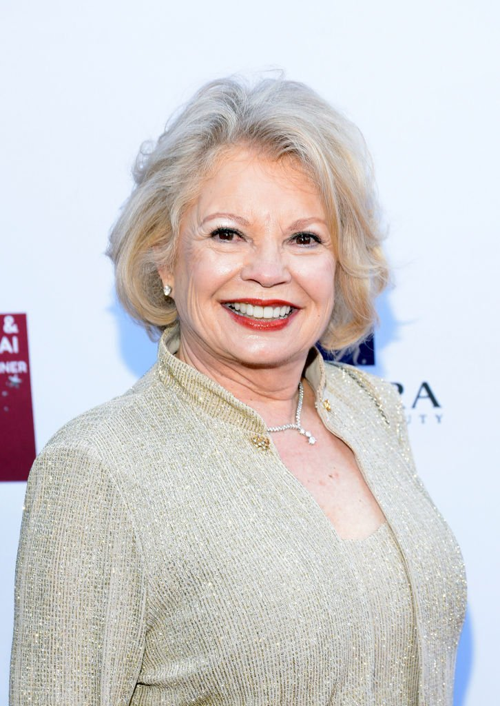 : Kathy Garver attends the 4th annual Roger Neal Oscar Viewing Dinner Icon Awards and after party at Hollywood Palladium on February 24, 2019  | Photo: GettyImages