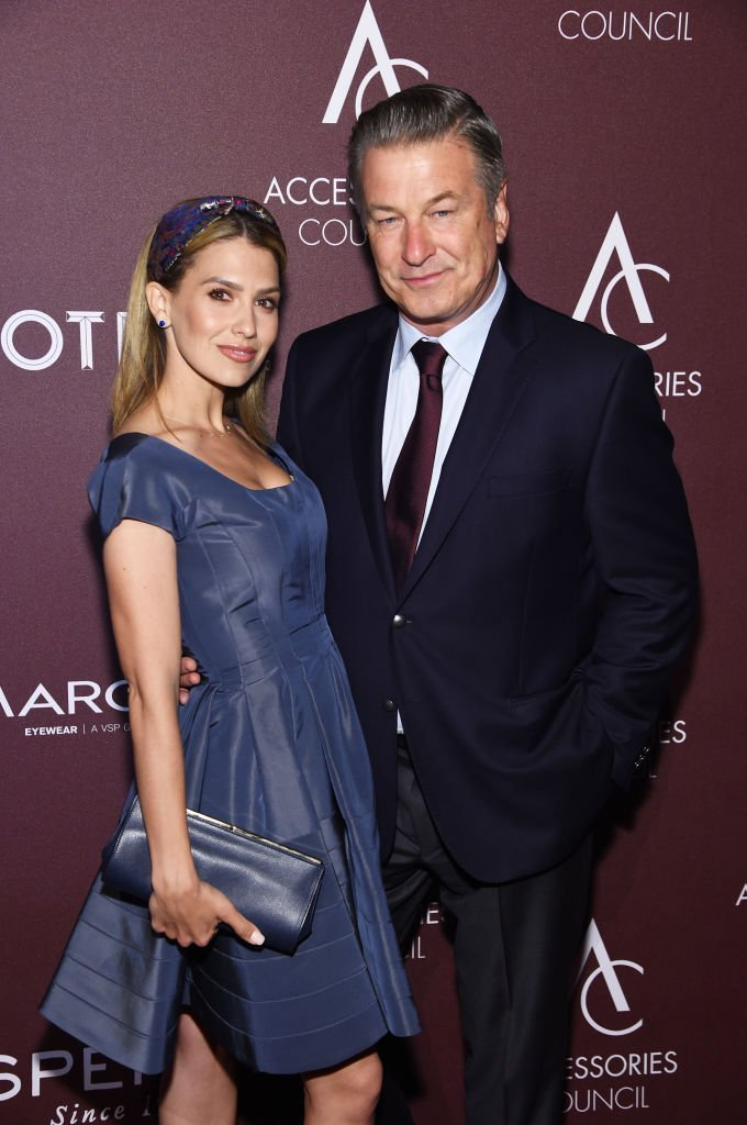 Hilaria Baldwin and Alec Baldwin at the Accessories Council Hosts The 23rd Annual ACE Awards. | Source: Getty Images