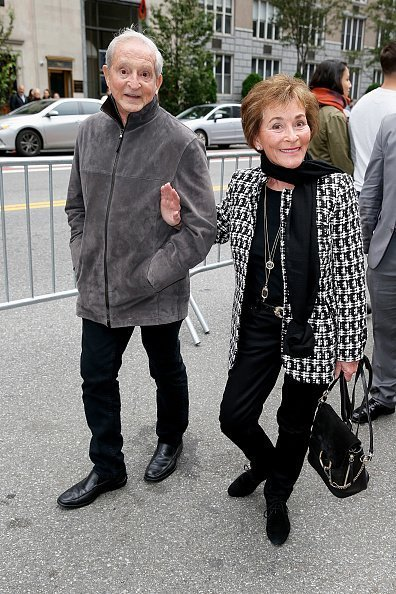 Judge Judy Sheindlin and husband Jerry Sheindlin in New York City | Photo: Getty Images