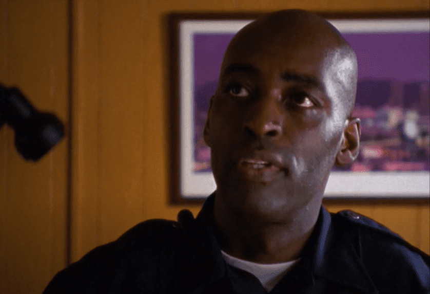 """Michael Jace playing the role of  Julien Lowe on """"The Shield""""   Photo: Youtube/ VicMackey"""