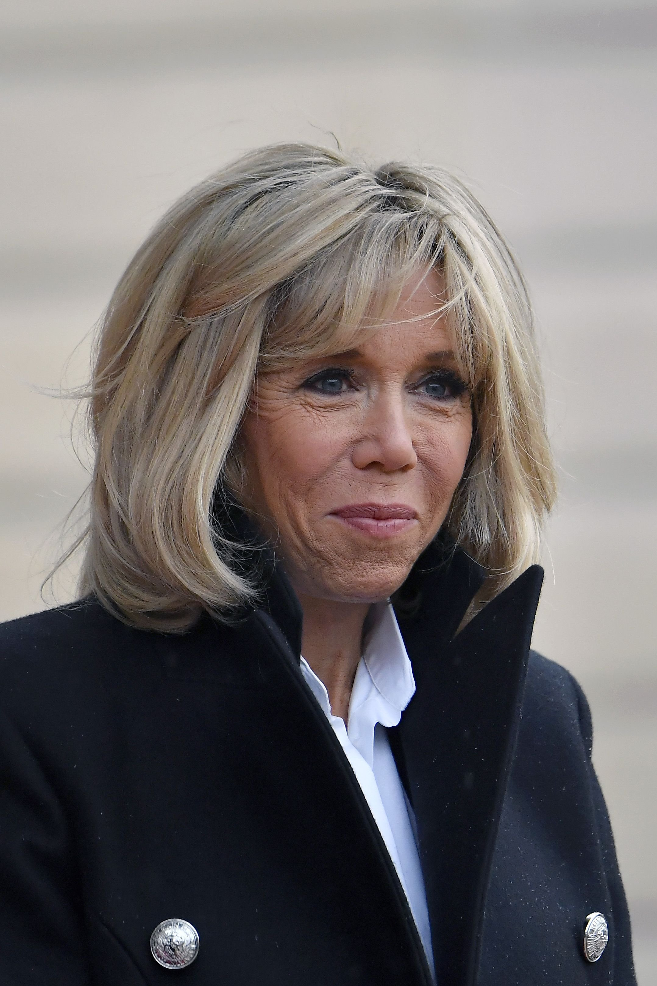Brigitte Macron à l'Elysée le 11 novembre 2018 à Paris, France.  | Photo : Getty Images