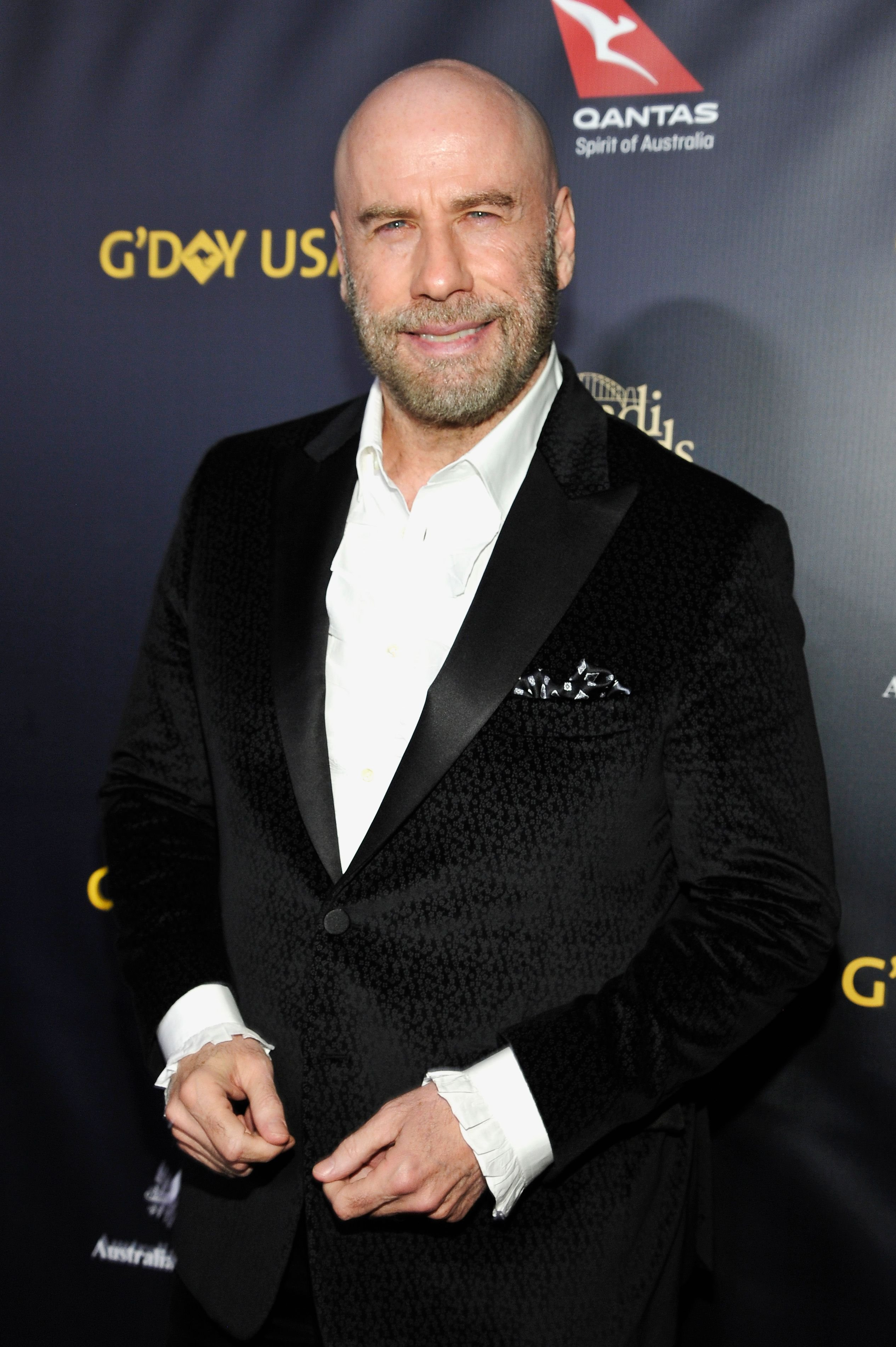 John Travolta attends the 2019 G'Day USA Gala.   Source: Getty Images