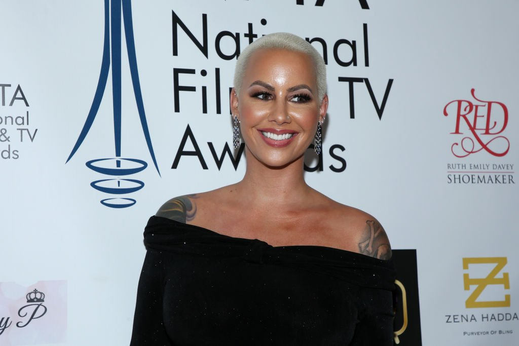 Amber Rose attends the National Film and Television Awards Ceremony at Globe Theatre on December 05, 2018. | Photo: Getty Images