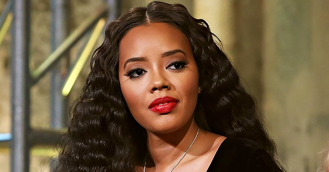 GUHH Star Angela Simmons Displays Her Stunning Legs in a Pink Mini-Skirt & Neon Top in New Pics