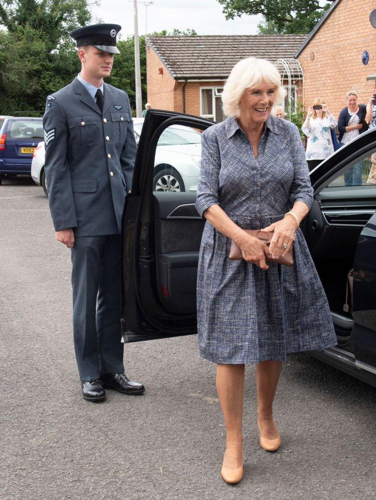 Camilla, Duchess of Cornwall, visits the Dolau Bran Lunch Club to celebrate the club's 40th anniversary | Photo: GettyImages