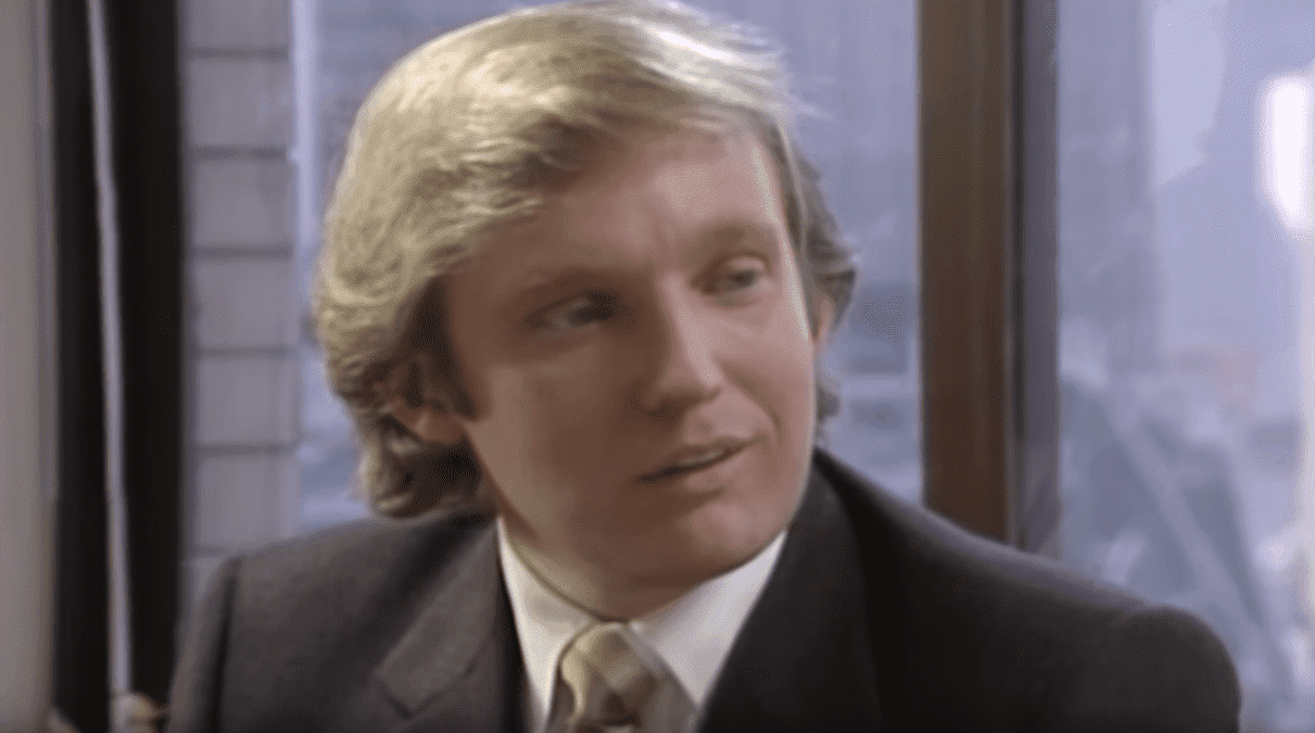Donald Trump in one of his first TV interviews. I Image: YouTube/CNN.