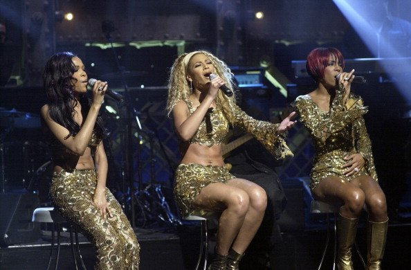 Musical guests Destiny's Child's Michelle Williams, Beyonce Knowles, Kelly Rowland perform onstage | Photo: Getty Images