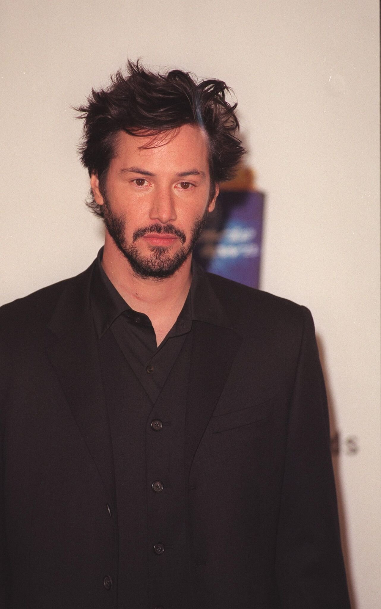 Keanu Reeves at the MTV Movie Awards held at the Barkar Hangar, Santa Monica Airport.  | Getty Images