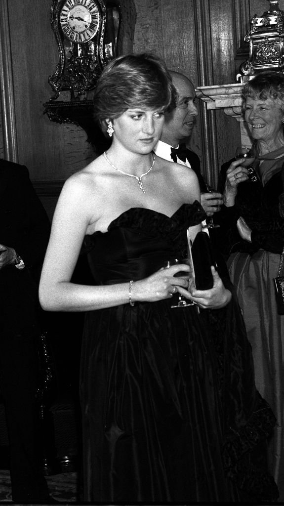Princess Diana at her first Royal engagement at the Goldsmiths' Hall, City of London on March 09, 1981   Photo: Getty Images