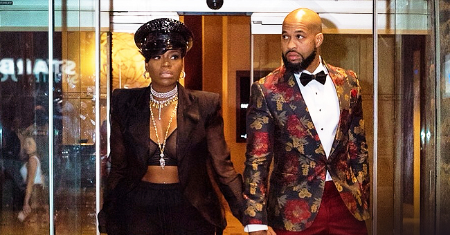 Singer Fantasia Is in Black Outfit & Matching Cap as She Steps out with Husband Kendall Taylor