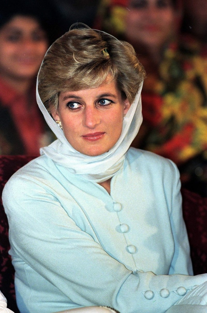 Diana, Princess of Wales, in Lahore, Pakistan, on June 22, 1996   Photo: Getty Images