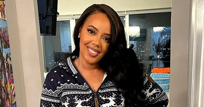 See Rev Run's Daughter Angela Simmons' Curvaceous Body in Stunning Snaps in This Black Swimsuit