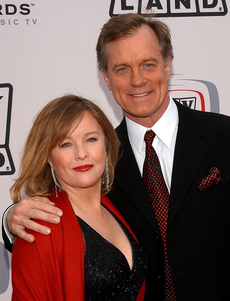 Stephen Collins and wife Faye Grant at the 2005 TV Land Awards on March 13, 2005 | Photo: Getty Images