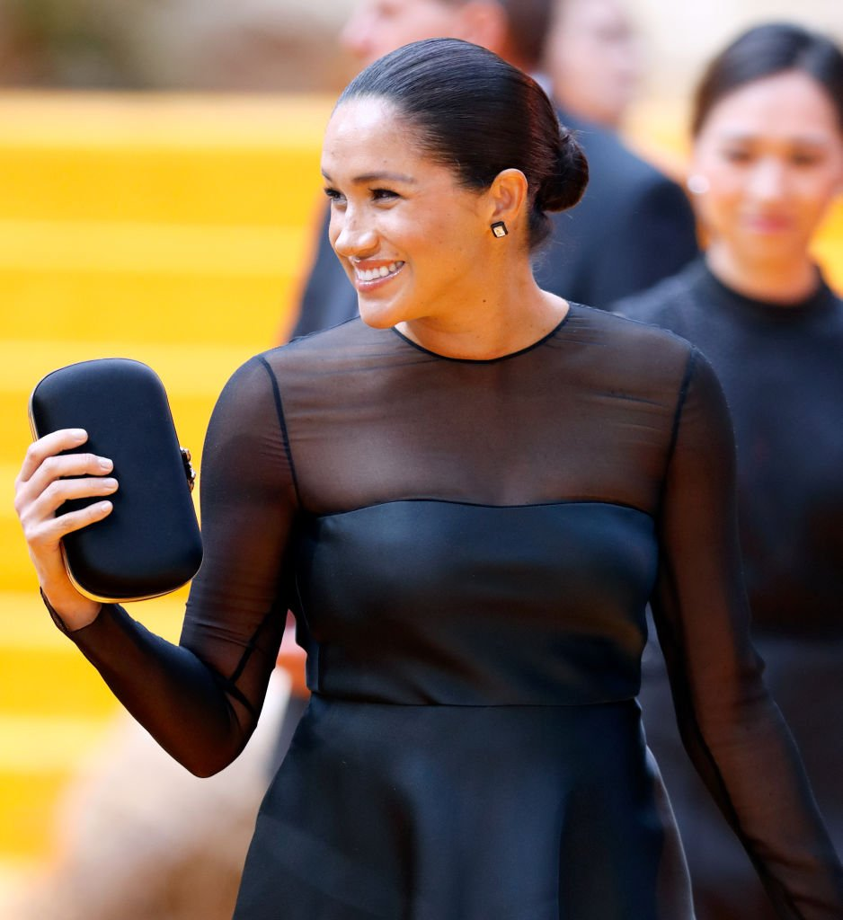 "Meghan, Duchess of Sussex attends ""The Lion King"" European Premiere at Leicester Square 