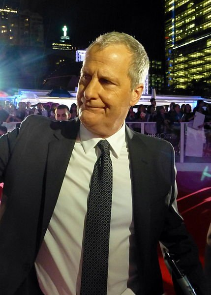 "Jeff Daniels at the premiere of ""The Martian."" 