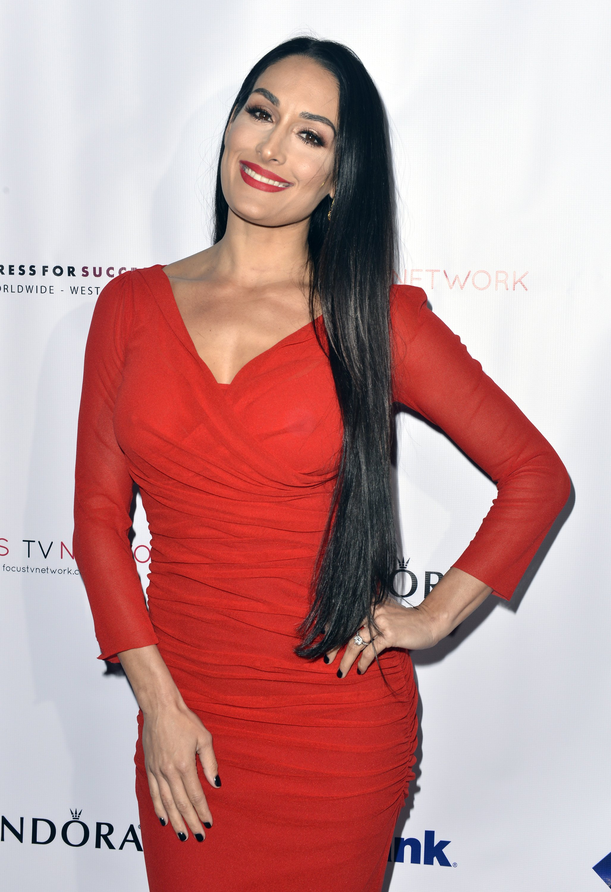 Nikki Bella attends the Shop for Success Vip Event in Los Angeles, California on November 30, 2017 | Photo: Getty Images