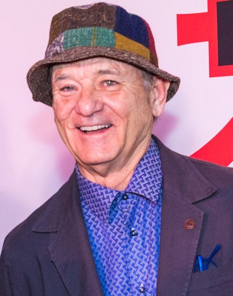 Bill Murray at the screening of Wes Anderson's 'Isle of Dogs' at the Metropolitan Museum of Art. | Source: Wikimedia Commons
