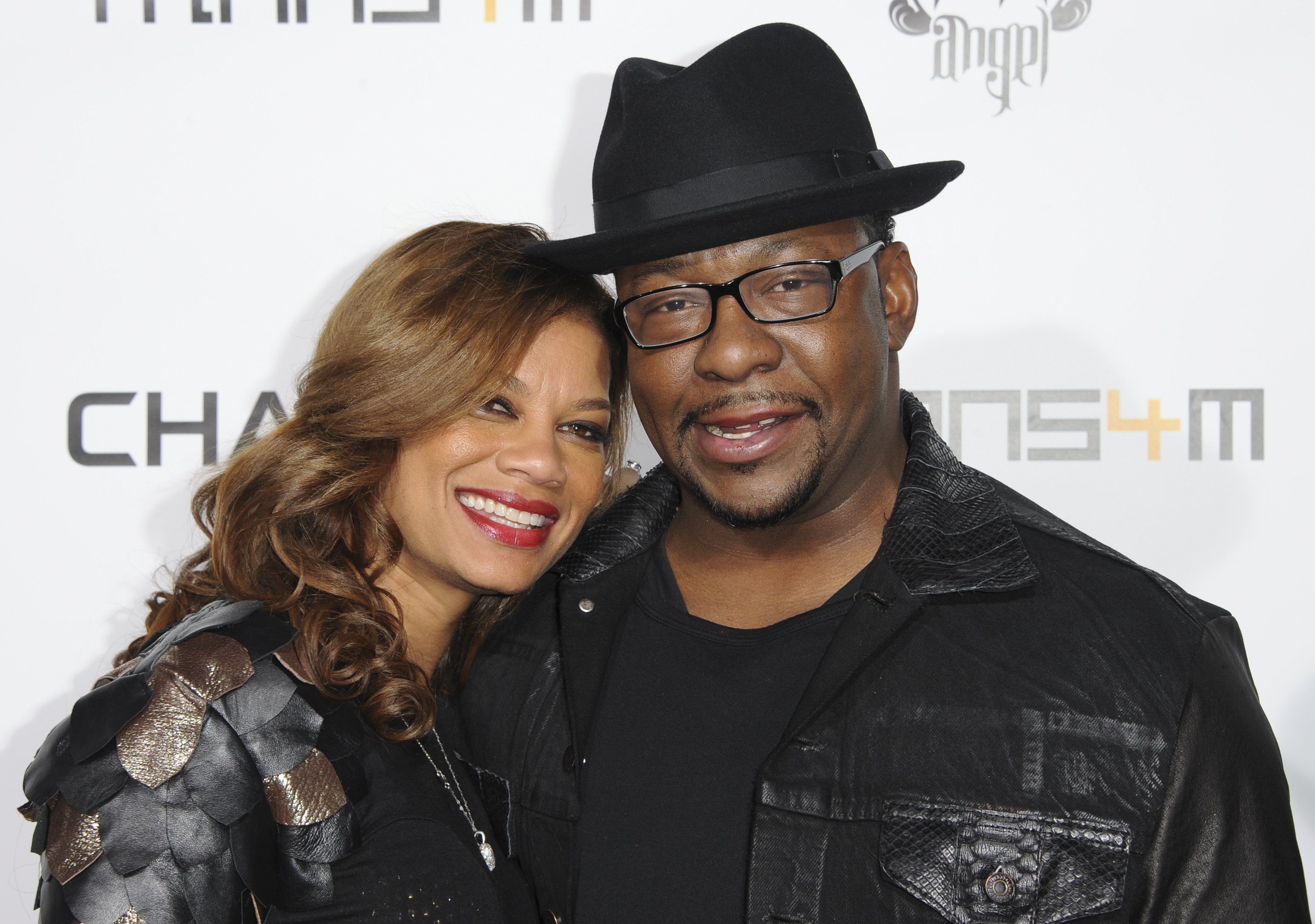 Alicia Etheredge & Bobby Brown at Will.I.Am's Annual TRANS4M Concert on Feb. 7, 2013 in Hollywood | Photo: Getty Images