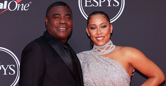 Megan Wollover and Tracy Morgan arrive on the red carpet at The 2019 ESPYs on July 10, 2019 in Los Angeles, California | Source: Rich Fury/Getty Images