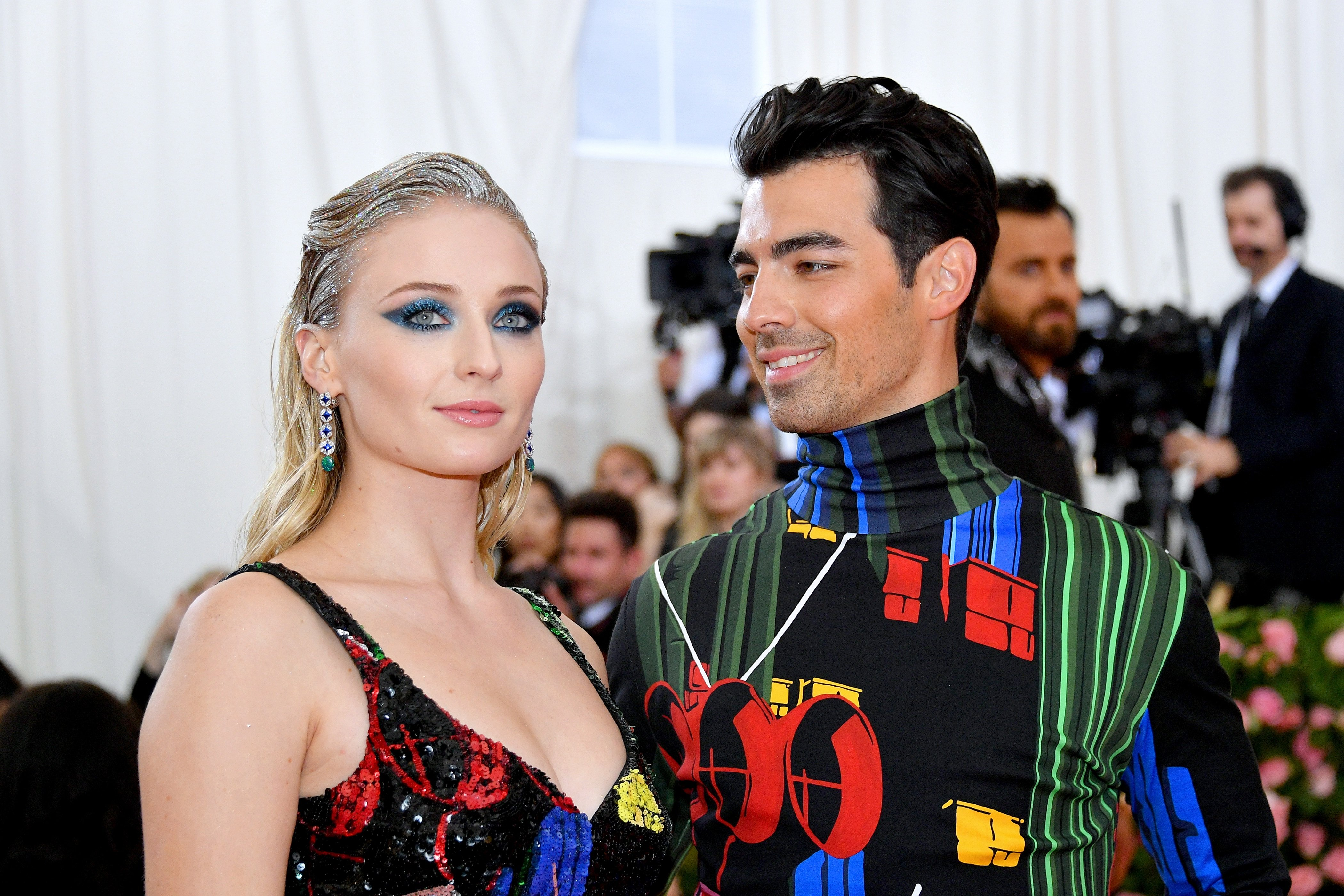 Sophie Turner and Joe Jonas attend The 2019 Met Gala on May 06, 2019, in New York City. | Source: Getty Images.