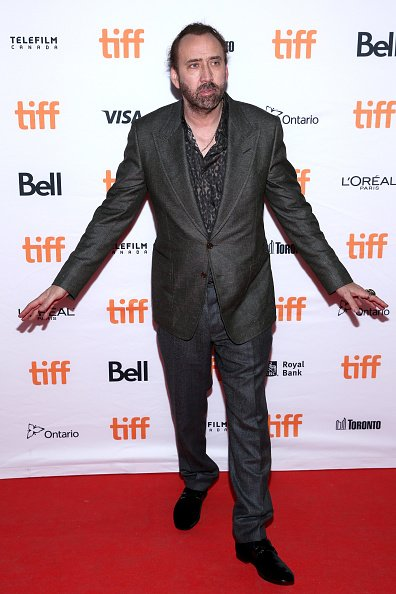 Nicolas Cage, Toronto International Film Festival, 2017 | Quelle: Getty Images