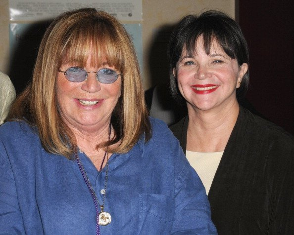 Penny Marshall and Cindy Williams on April 21, 2012 in Burbank, California | Source: Getty Images