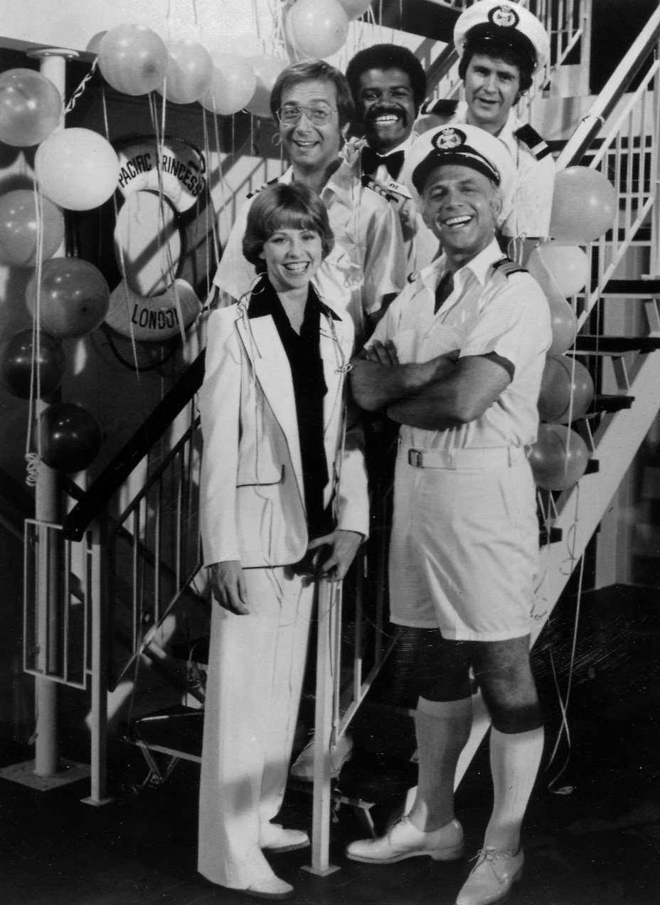 "Publicity photo of cast for ""The Love Boat"" series premiere 