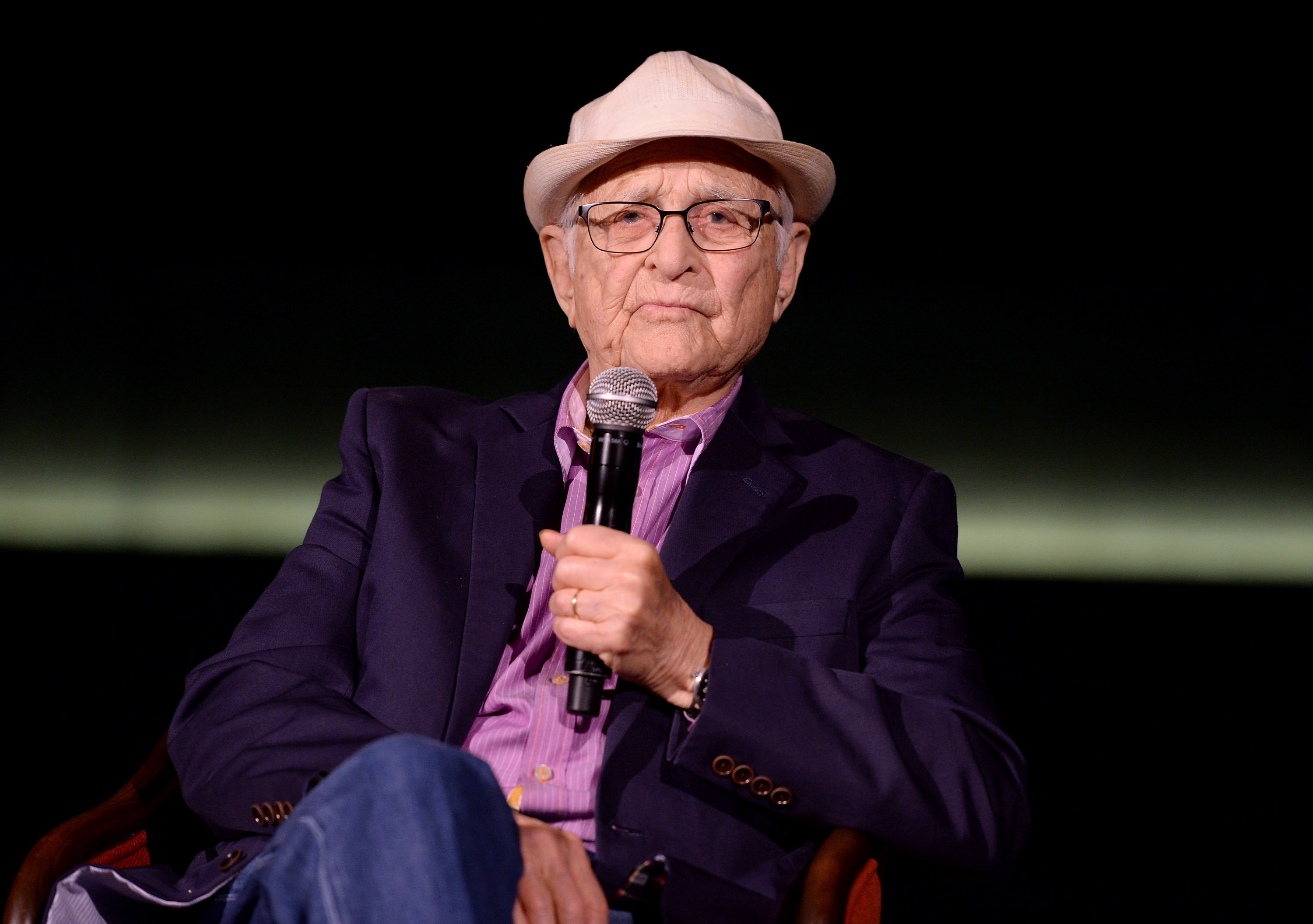 "Norman Lear attending the TOMS, ""VOTE2016"" Conversation on March 10, 2016 in Santa Monica, California. 