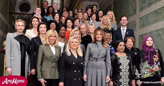 Tenue irrésistible de Brigitte Macron : vêtue d'un pantalon elle eclipse les femmes des chefs d'État (Photos)