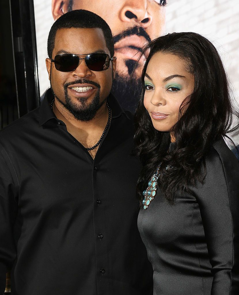 Ice Cube and his wife, Kimberly Woodruff, at the premiere of  'Ride Along' in 2014 in Los Angeles | Source: Getty Images