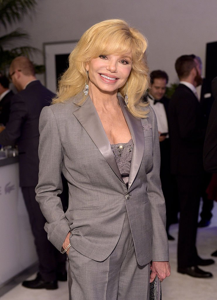 Actress Loni Anderson attends the 17th Costume Designers Guild Awards with presenting sponsor Lacoste at The Beverly Hilton Hotel | Getty Images