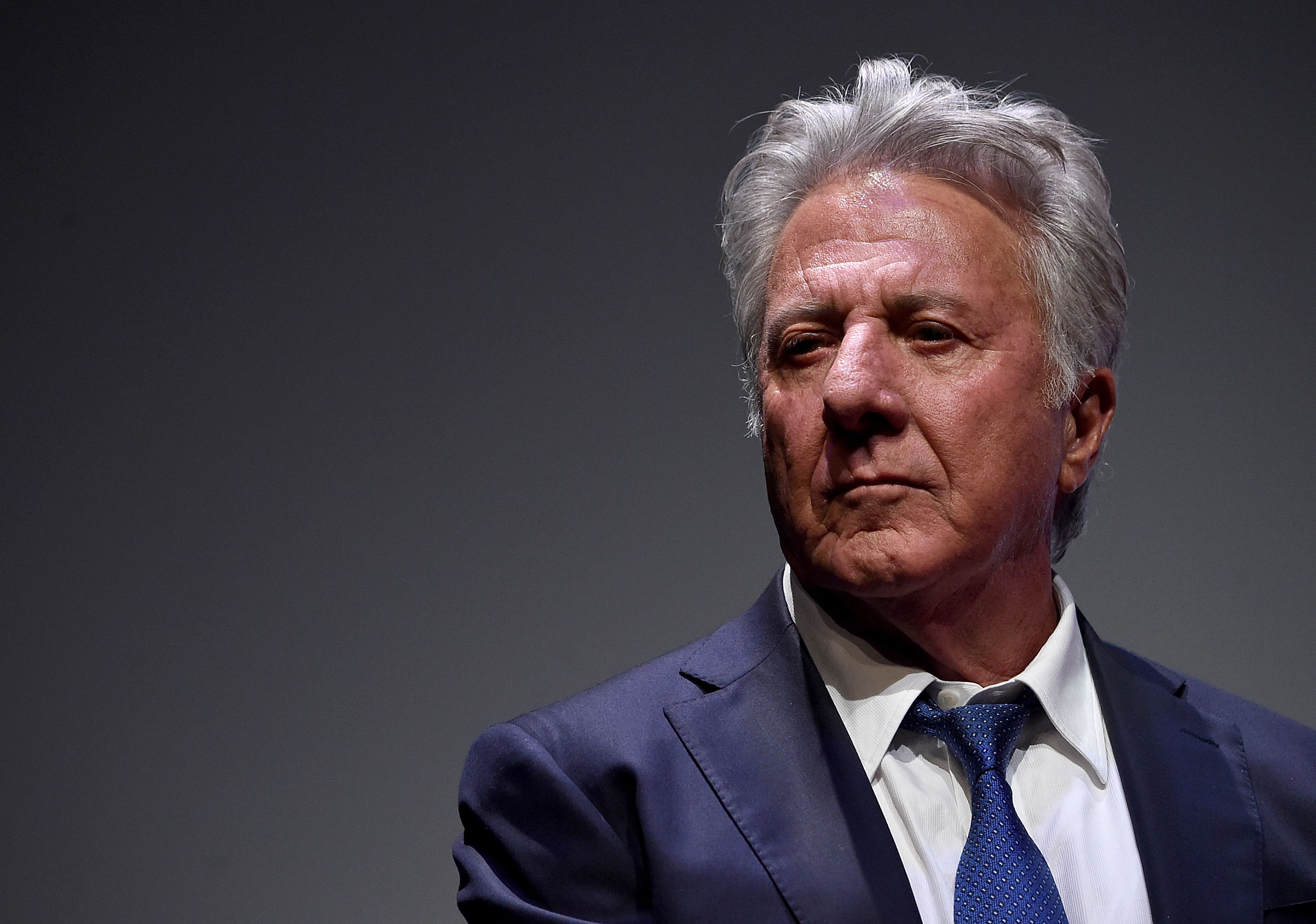 """Dustin Hoffman attends the 55th New York Film Festival - """"Meyerowitz Stories"""" at Alice Tully Hall on October 1, 2017, in New York City. 