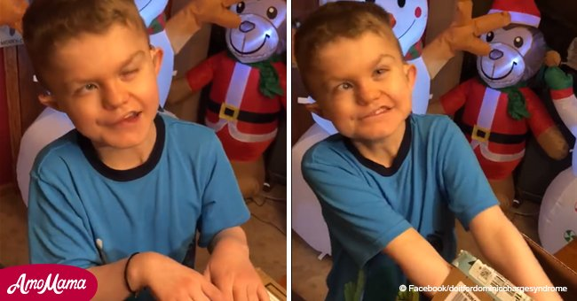 Secret Santas send dozens of Christmas gifts to 10-year-old kid with rare condition