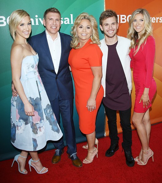 Savannah Chrisley, Todd Chrisley and Julie Chrisley, Chase Chrisley and Lindsie Chrisley attend the 2016 NBCUniversal Summer press day held at Four Seasons Hotel Westlake Village on April 1, 2016 in Westlake Village, California | Photo: Getty Images