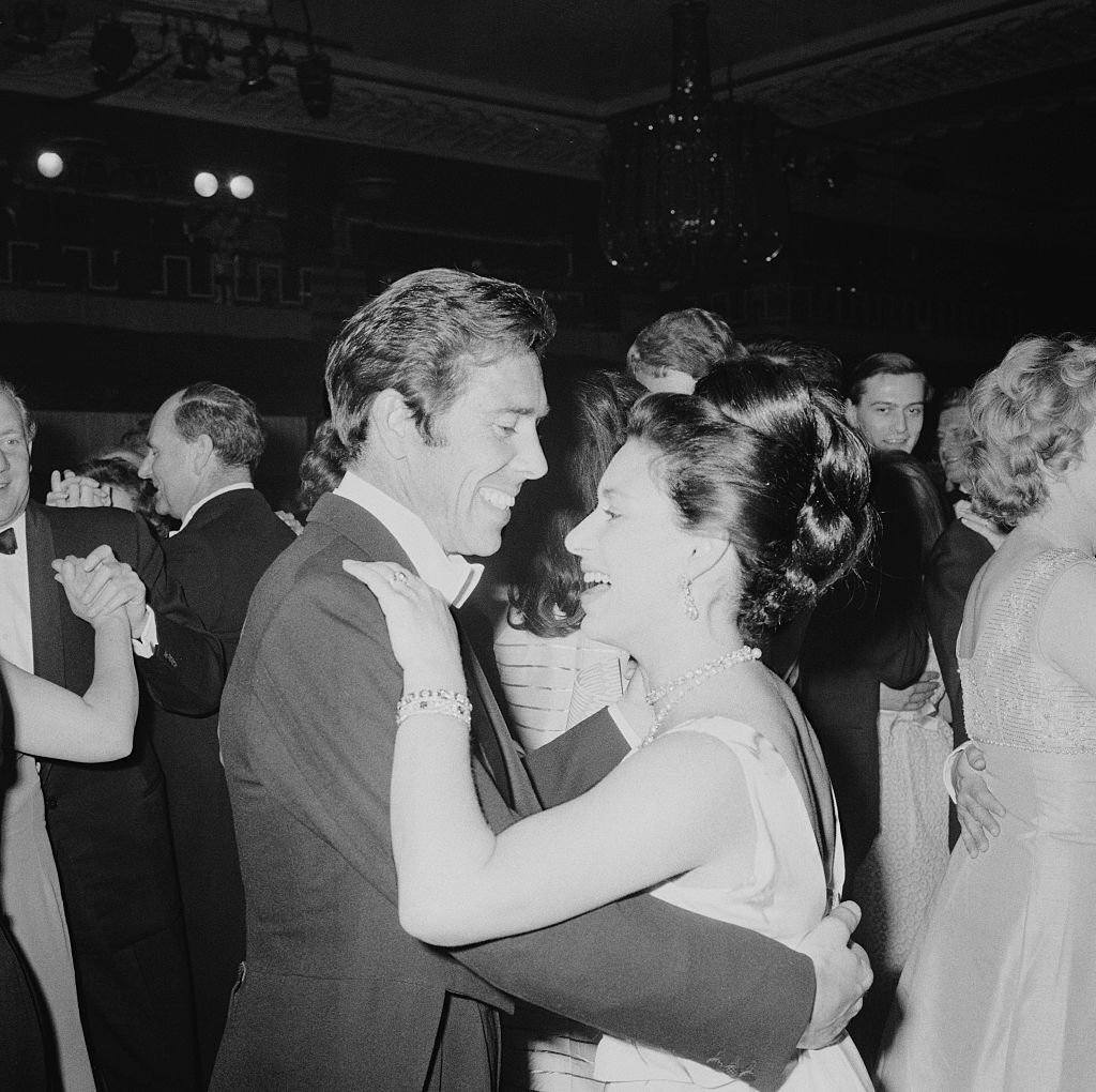 Princess Margaret Countess of Snowdon (1930 - 2002) dancing with her husband Antony Armstrong-Jones - 1st Earl of Snowdon at the Canadian Women's Club Centenary Ball at Grosvenor House, London | Getty Images